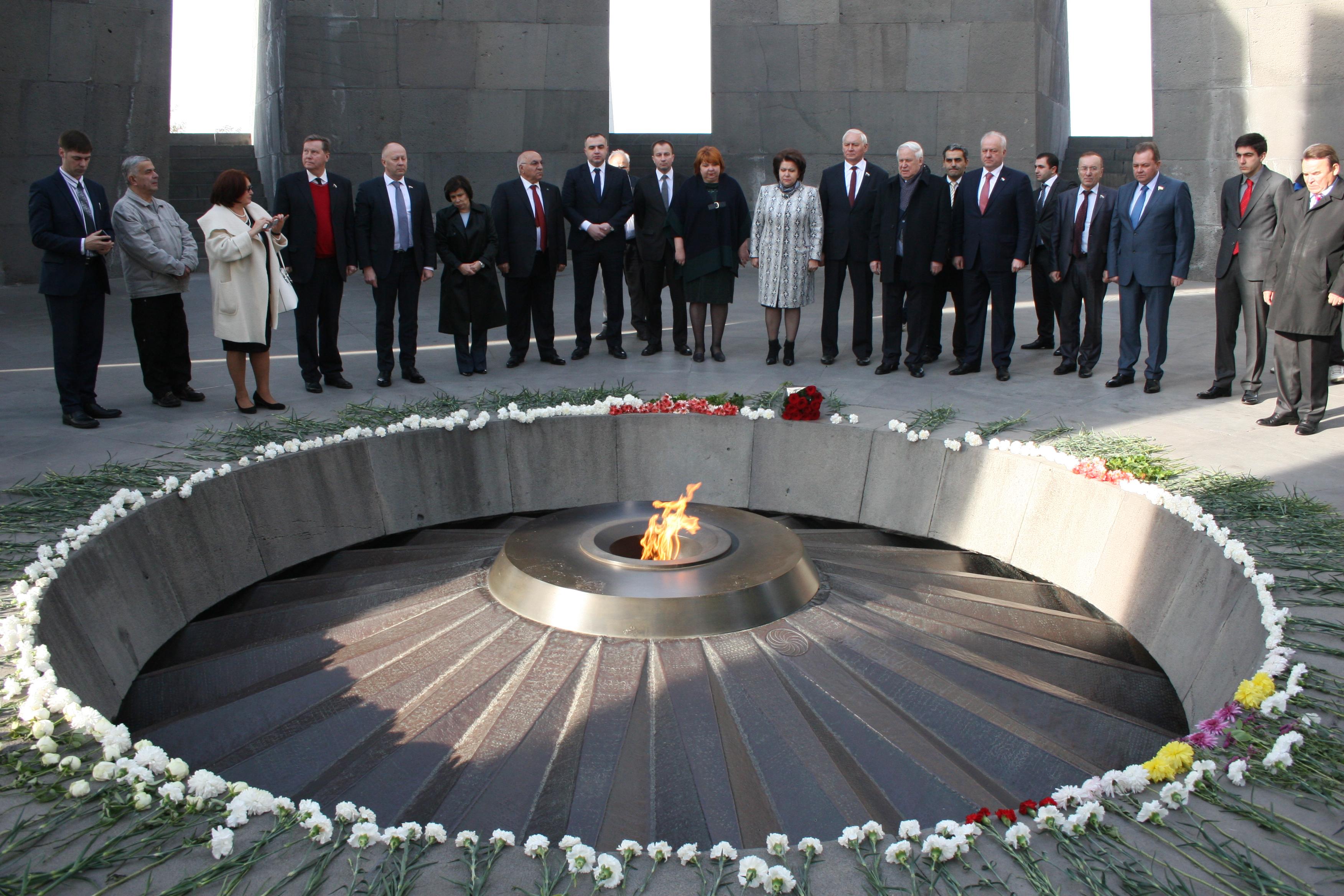Рыжков: Пройдут века, но никогда не забудется Геноцид армян