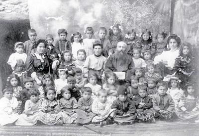 "Детска градина ""Сурп Агоп"" в Харберд, 1900-те г."