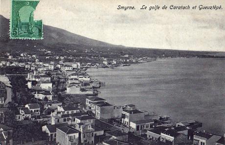 Smyrna'da karataş ermeni mahalesi 19 yüzyılın sonu 20